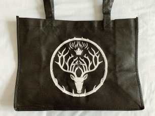 Tour tote bag front